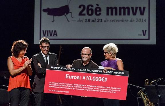 Un projecte de cant flamenc en català guanya el Puig-Porret