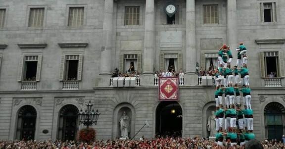 Jornada castellera de màxims a Barcelona