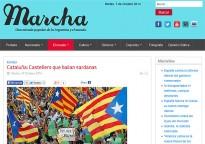 Vés a: Pintades de «Muerte al separatismo» al local dels Grocs de Castelldefefels