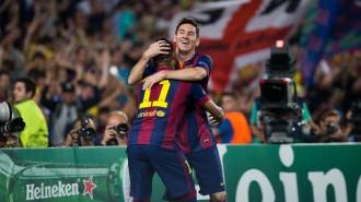 El Barça vola cap a les semifinals de la Lliga de Campions (2-0)