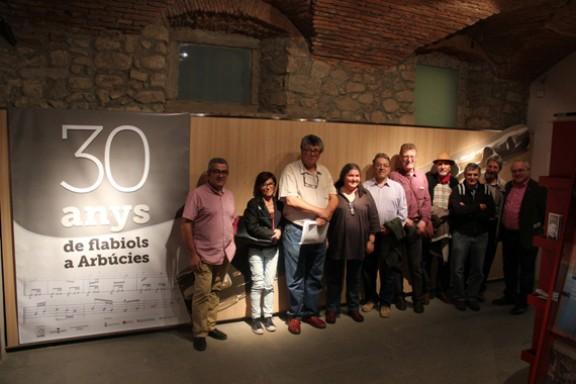 Arbúcies celebra 30 anys de tradició flabiolaire