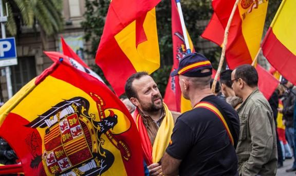 El feixisme contra el 9-N