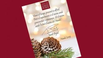 Pujol felicitava el Nadal de l'any passat demanant «generositat i esperança»