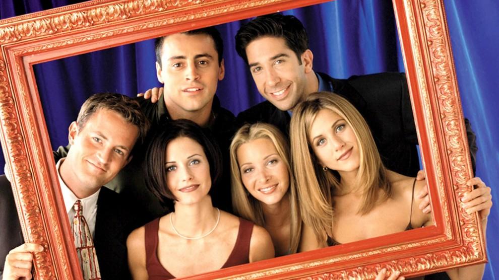 Els protagonistes de Friends