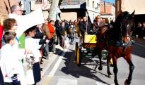 Alcover celebrarà els tradicionals Tres Tombs amb un centenar de cavalleries