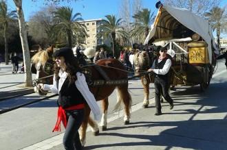 Arrenca la festa major d'hivern de Vila-seca amb el Cós de Sant Antoni