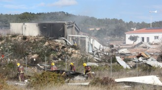 La pirotècnia Estalella, a totes un any després de l'explosió