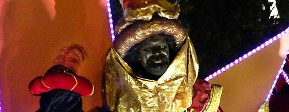 De quin color és el Rei Negre de la Cavalcada de Manresa?