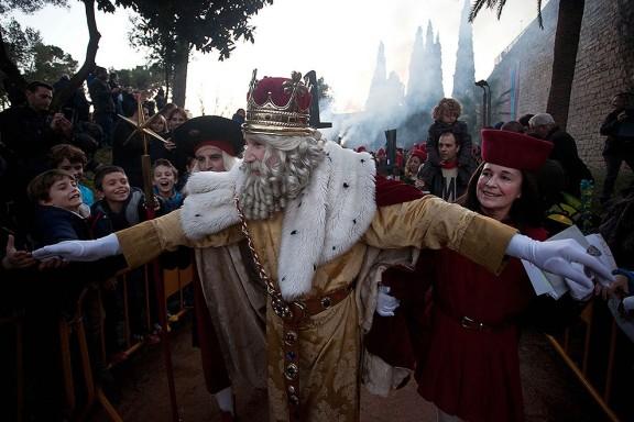 Cavalcada dels Reis d'Orient a Girona