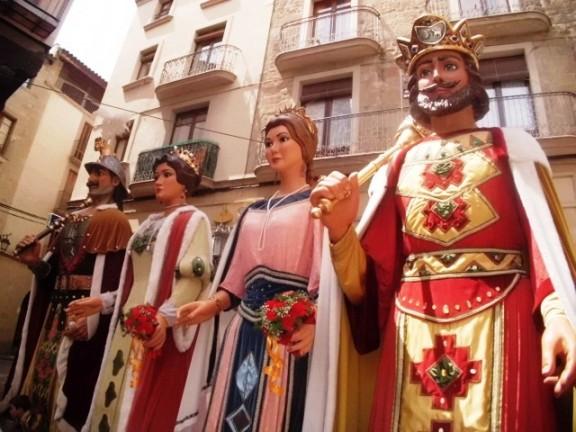 Els gegants de la Festa Major de Solsona estrenaran vestits nous