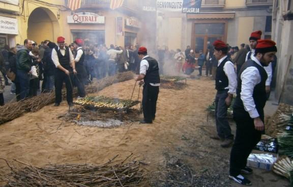 Èxit de visitants a la Gran Festa de la Calçotada, unes 40.000 persones