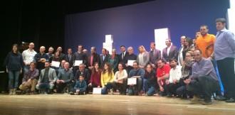 Òmnium, Josep Sala i la Plaça del Blat, premiats a la Nit de Castells