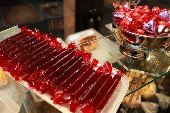 Dijous Gras... caramel vermell a Valls