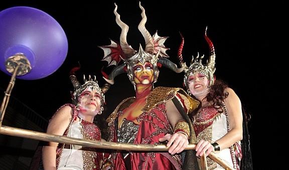 Satanàs, el rei Carnestoltes de Sitges