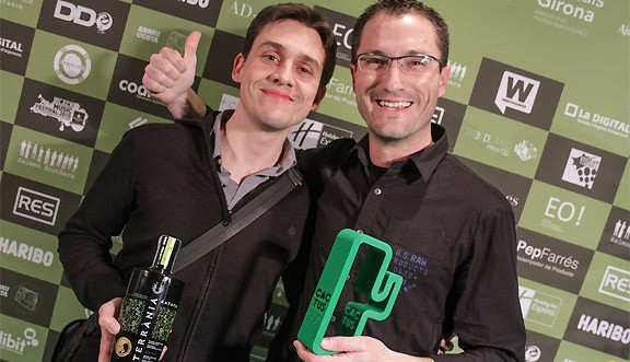 La ratafia Terrània, Premi Cactus a la Millor Innovació