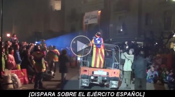 Indignació pels atacs a Espanya, l'exèrcit i la bandera al Carnaval de Solsona