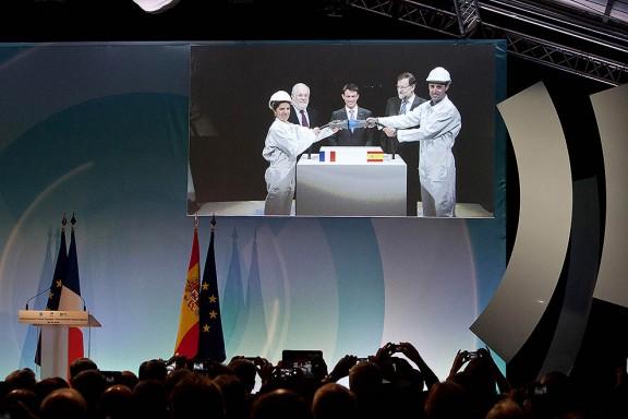 Valls i Rajoy inauguren la MAT