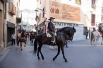 Els cavalls olotins celebren Sant Antoni el 8 de març
