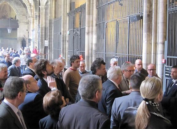 El Gremi de Fusters de Barcelona celebra la festivitat de Sant Josep