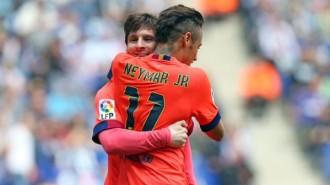 Un Barça exquisit atropella un Espanyol indefens (0-2)