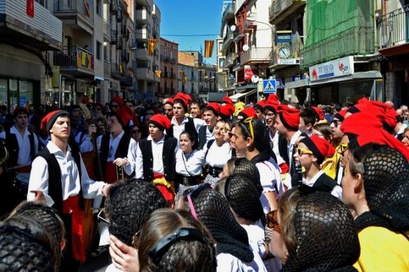 Més de vuit-cents participants a les Caramelles de Súria