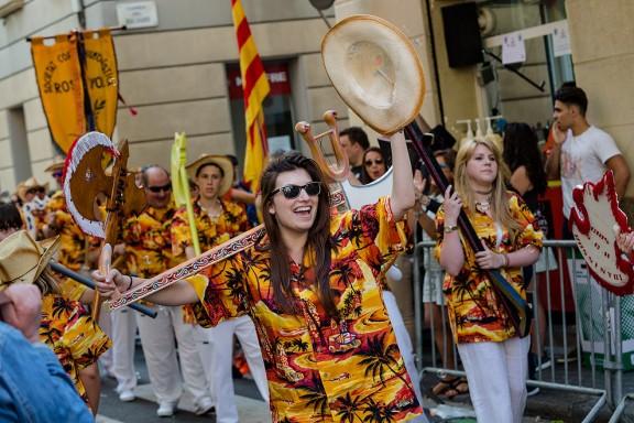 Totes les fotos de la festa dels Cors Muts de la Barceloneta