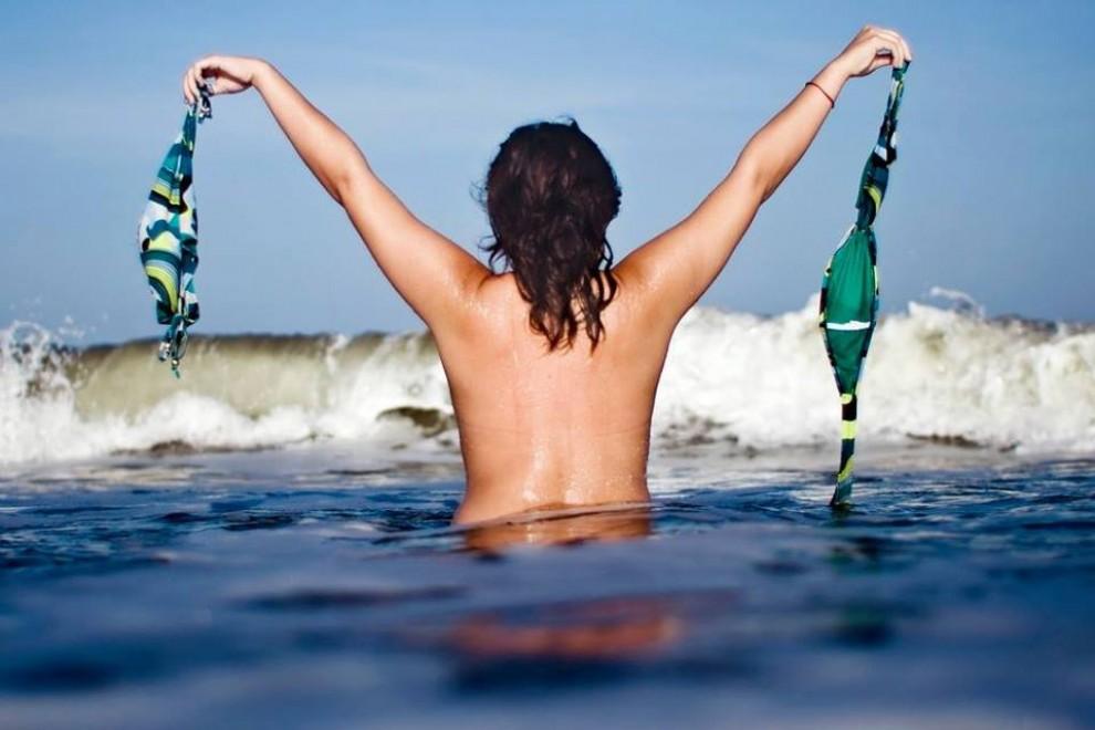 El nombre de platges nudistes augmenta a la  la Costa Brava
