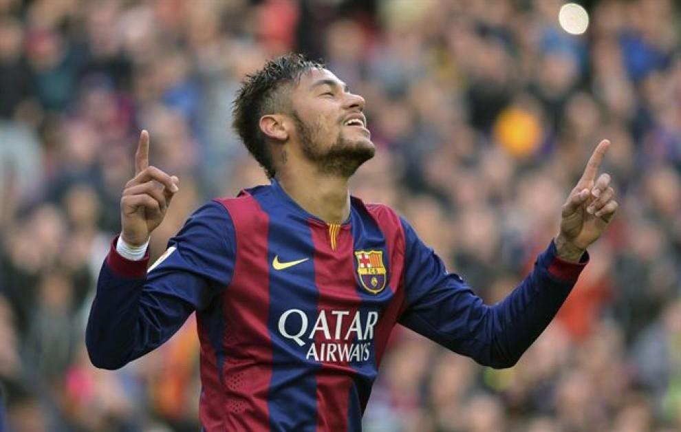 Neymar Jr. celebrant un gol