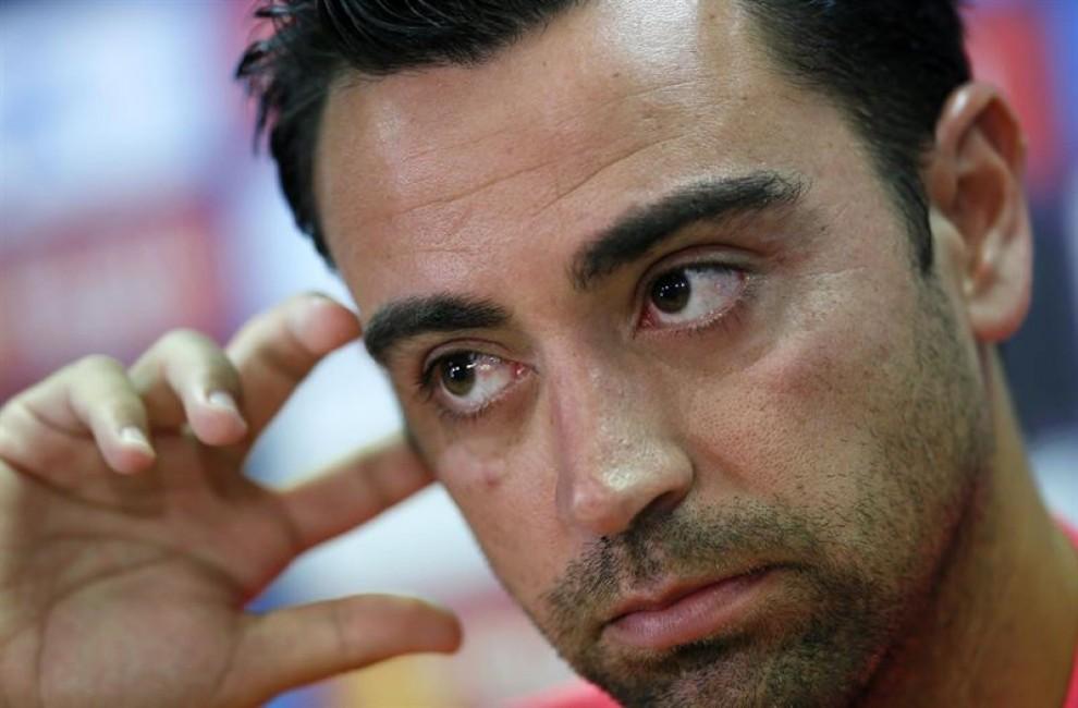 Xavi Hernández, en una foto d'arxiu.