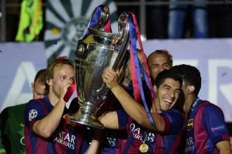 El Barça toca el cim del futbol europeu a Berlín (1-3)