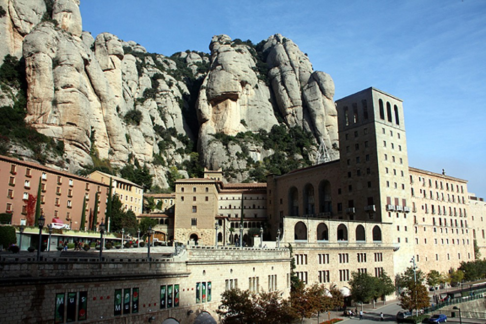 El Monestir de Montserrat, en una imatge d'arxiu.