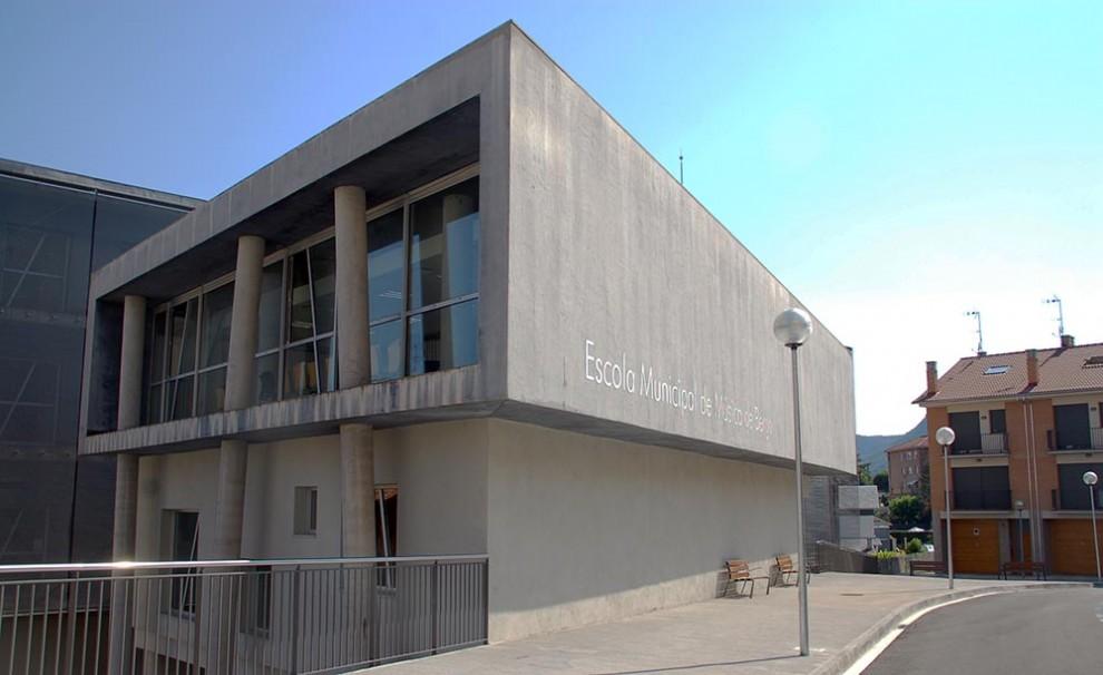 Escola Municipal de Música de Berga i seu del Conservatori dels Pirineus.