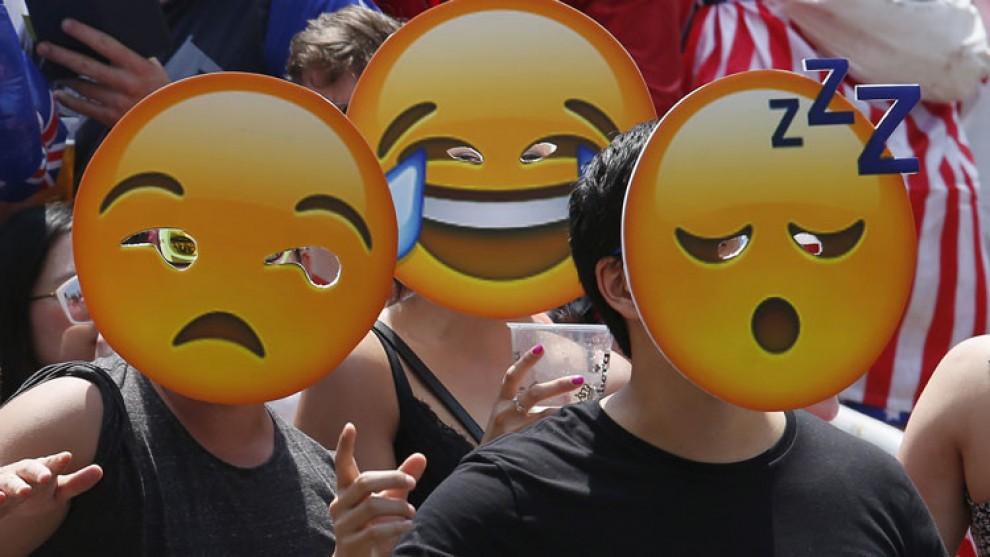Ser un mestre de les emoticones ara et pot donar feina.
