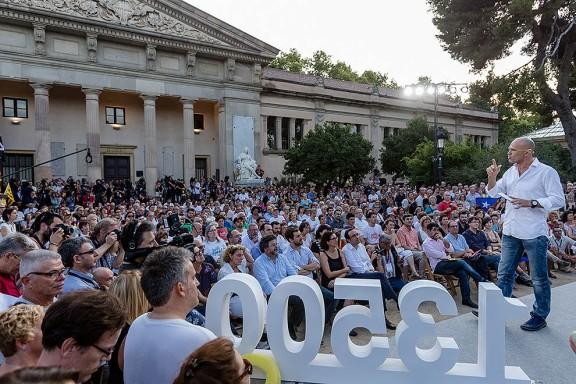 Junts pel Sí presenta els candidats de la societat civil