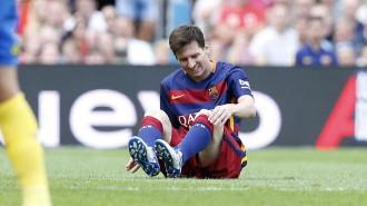 El Barça supera el tràmit de Las Palmas en un partit marcat per la lesió de Messi