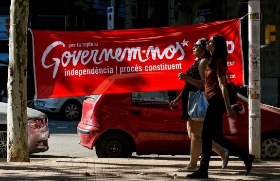 La campanya, a peu de carrer