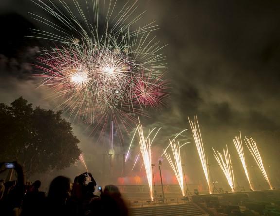 Prop de dos milions de barcelonins han participat a les festes de la Mercè