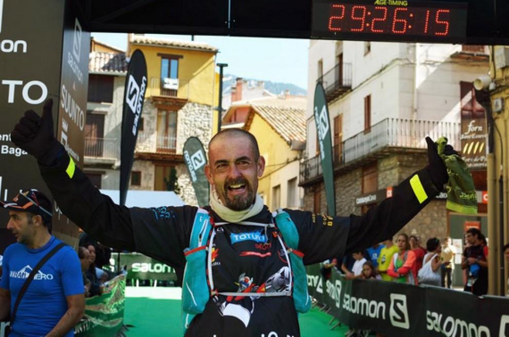 L'últim corredor de l'Ultra Pirineu, Jesús Bernabé.