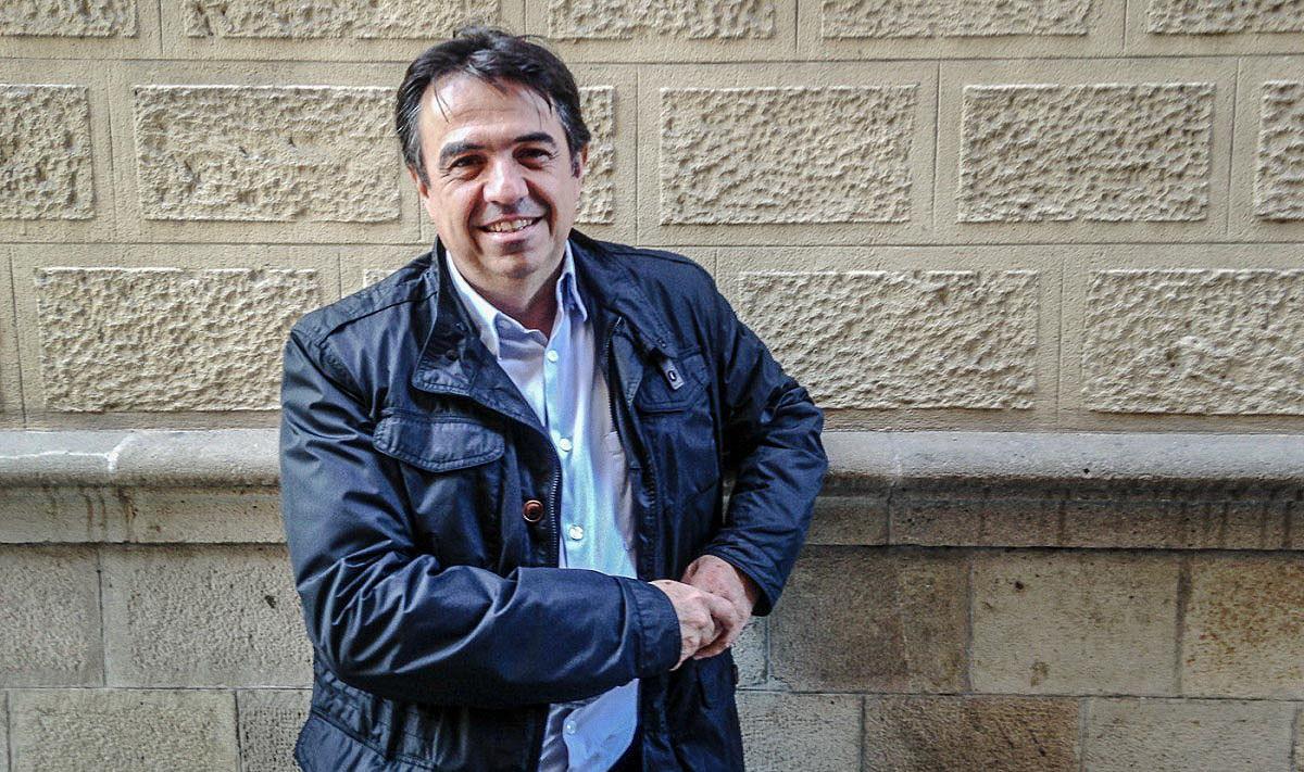 Martí Domínguez, autor de «La sega»