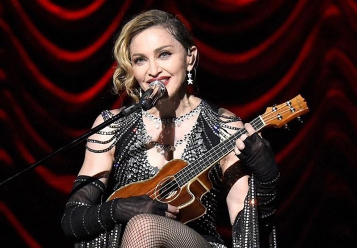 Madonna, en una imatge d'arxiu