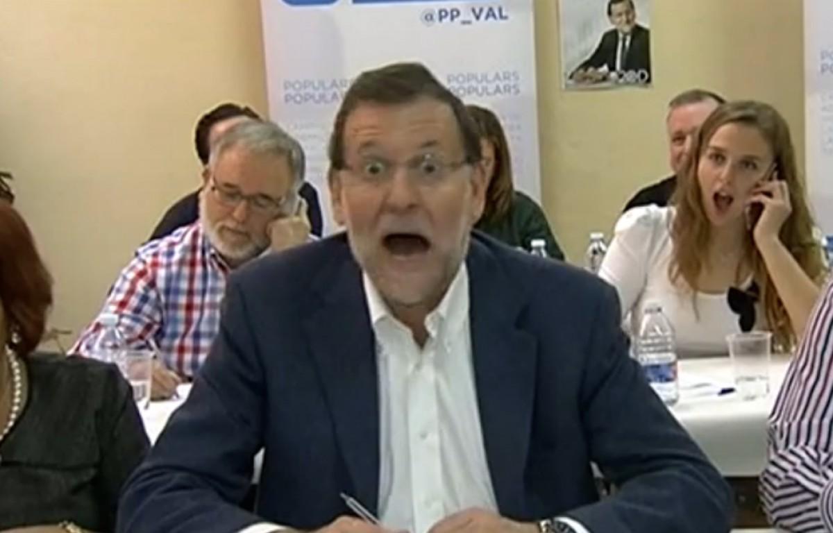 Rajoy, molt sorprès.