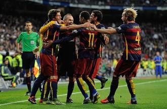 El Barça destrossa el Madrid al Bernabéu (0-4)