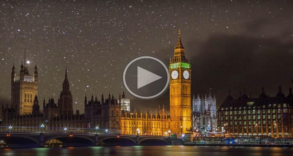 Una imatge del time-lapse sobre Londres
