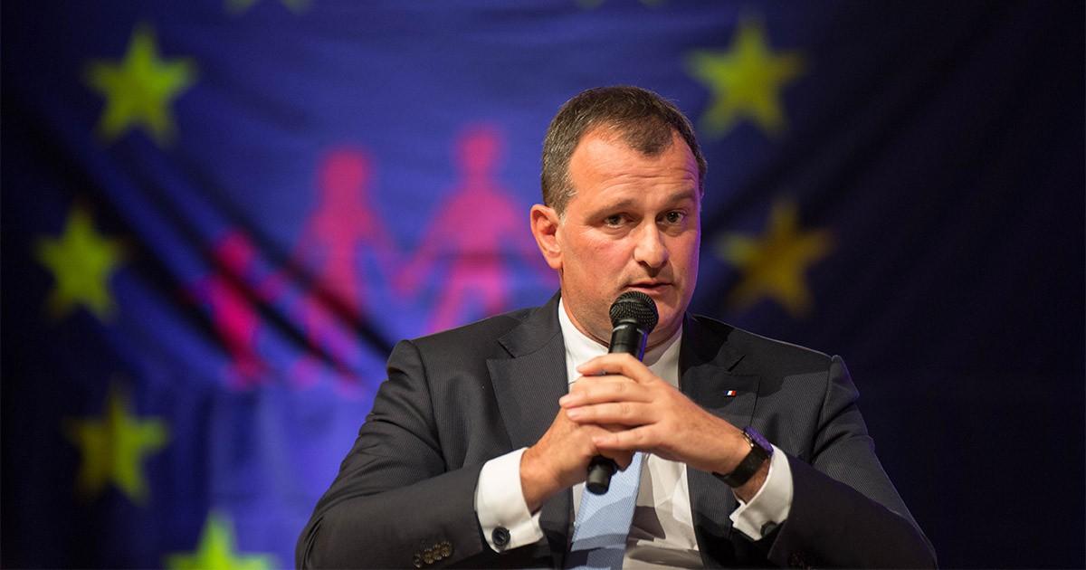 Louis Aliot, nou alcalde de Perpinyà.
