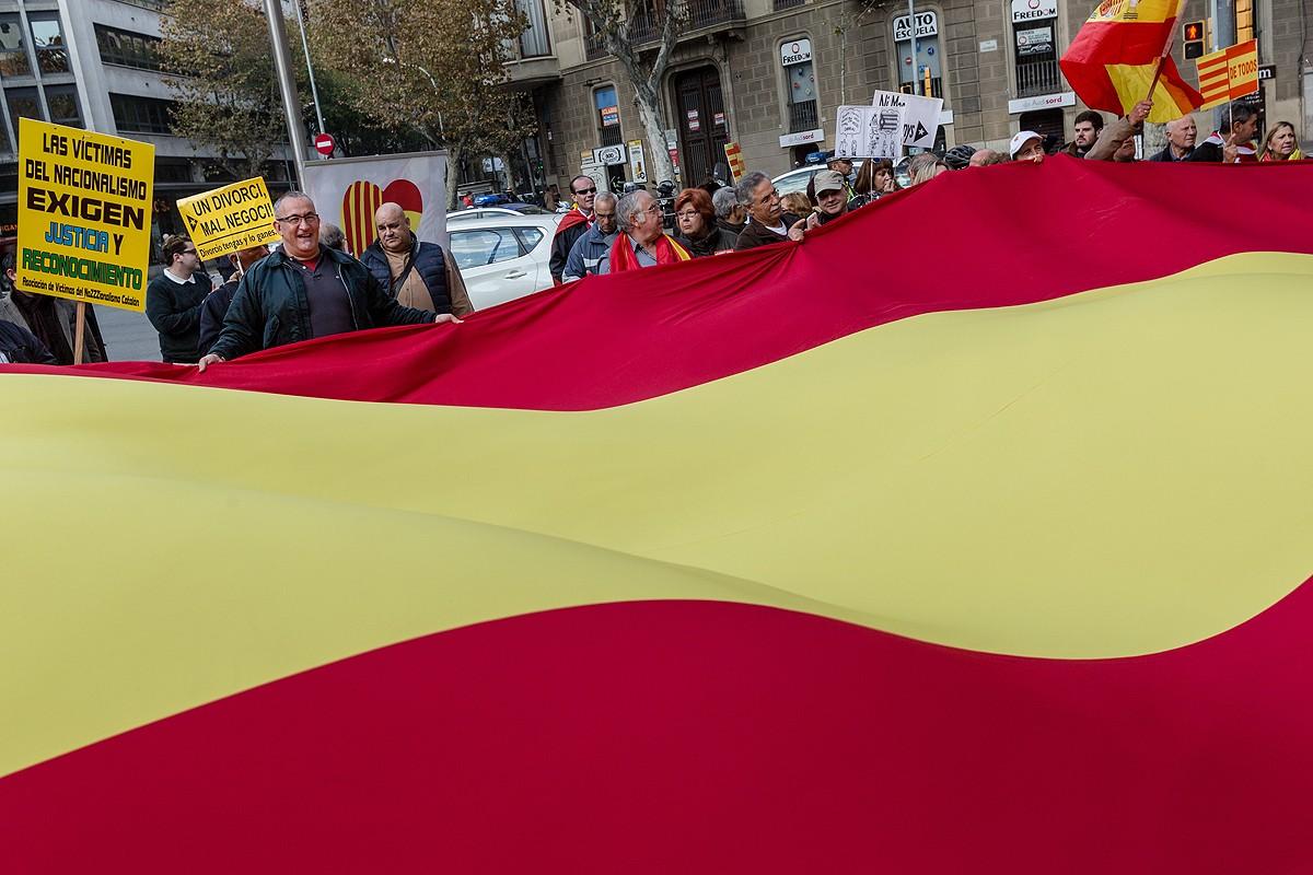 Manifestació espanyolista del 6-D