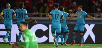 Un triplet de Luis Suárez classifica el Barça per a la final del Mundial de Clubs