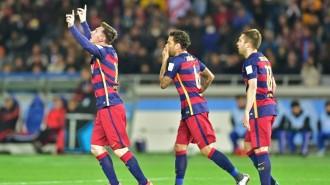 El Barça, triple campió del món