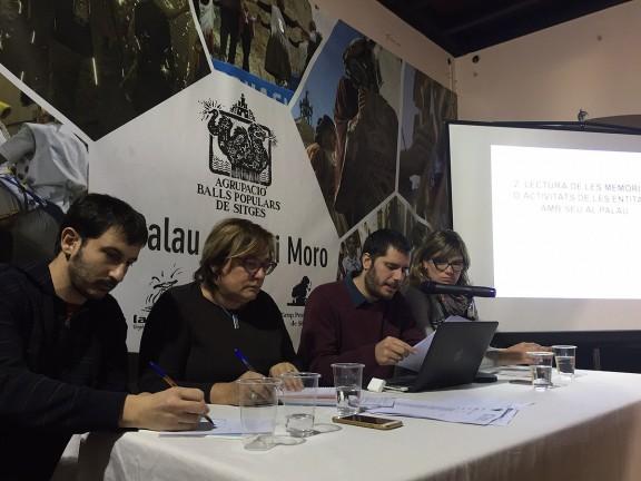Loreto Baqués, nova presidenta de l'Agrupació de Balls Populars de Sitges