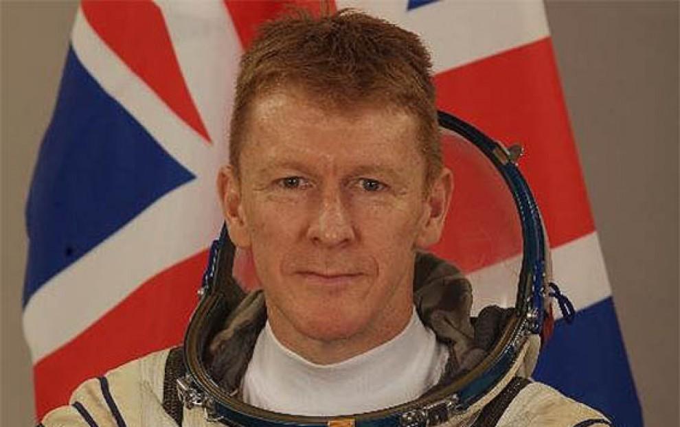 L'astronauta britànic Tim Peake