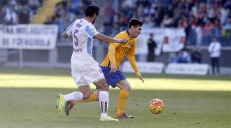El Barça supera un Màlaga que ha merescut molt més (1-2)